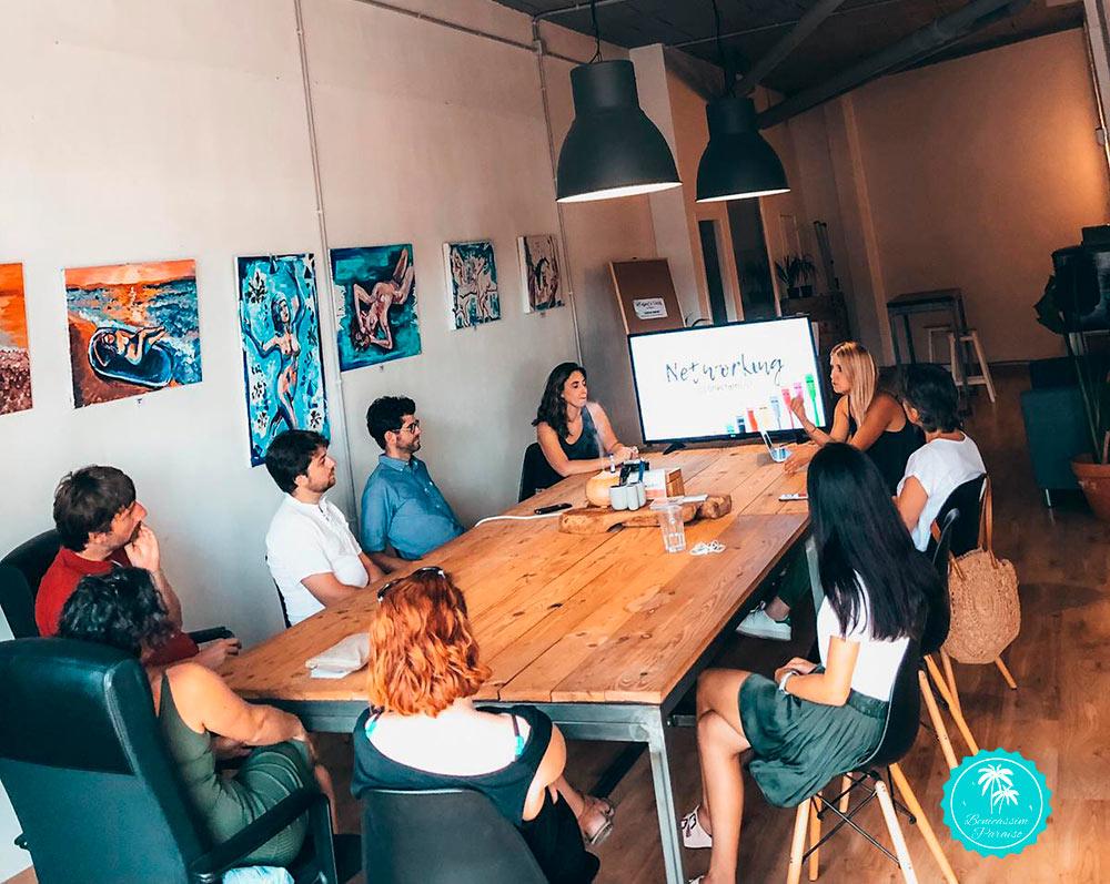 Actividades y talleres en Coworking Dinamic