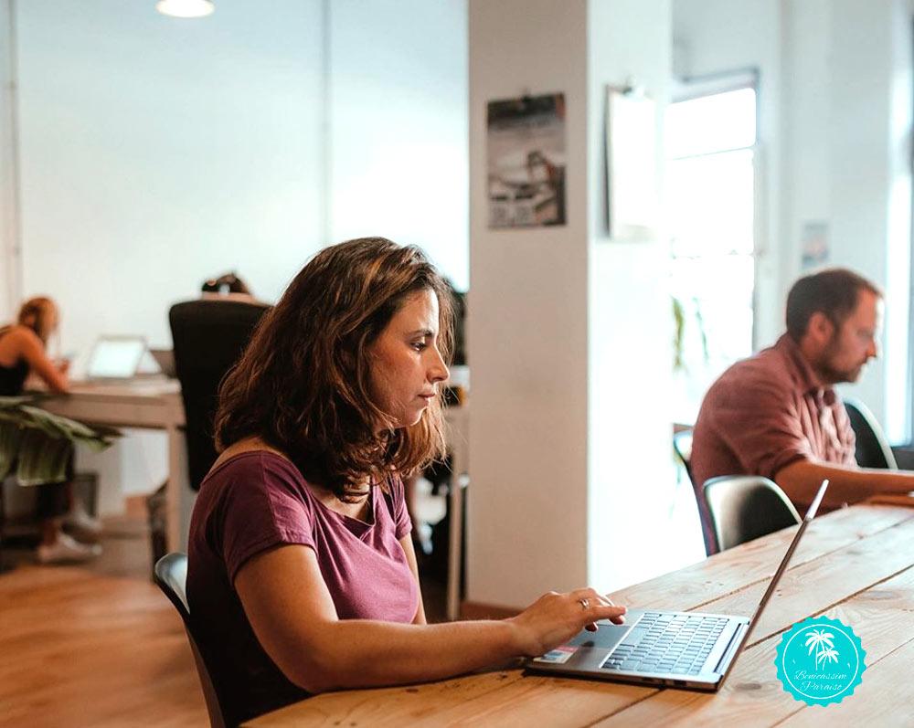 Espacio de trabajo en Benicàssim Coworking Dinamic
