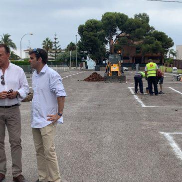 Benicàssim cuenta con nuevas plazas de aparcamiento