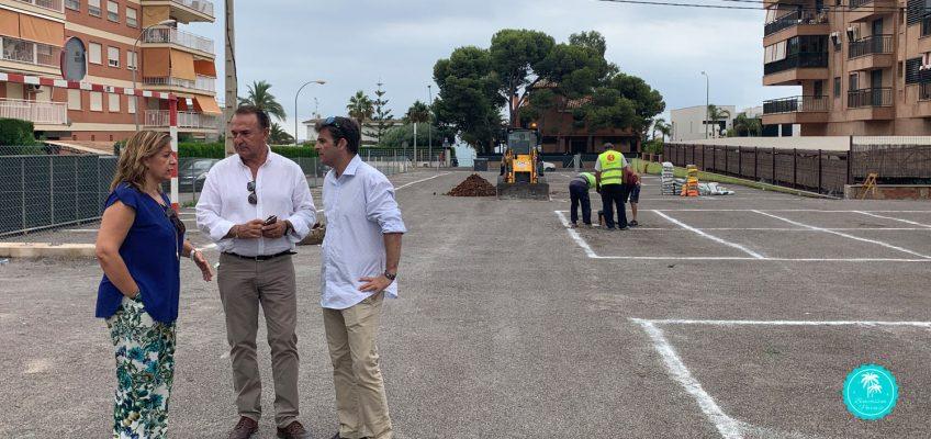 Nuevas plazas de aparcamiento en Benicàssim