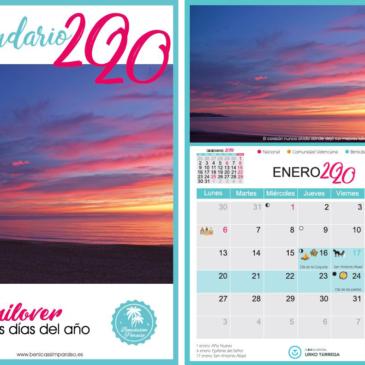 Venta de calendarios de Benicàssim Paraíso 2020