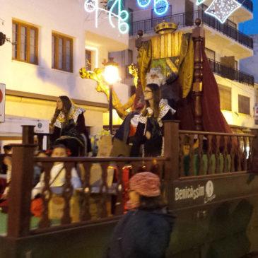Benicàssim recibirá a los Reyes Magos con una cabalgata llena de animación