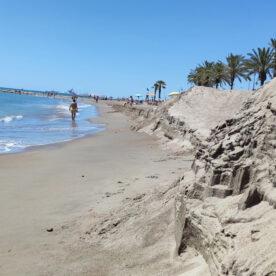 Escalón playa Heliópolis